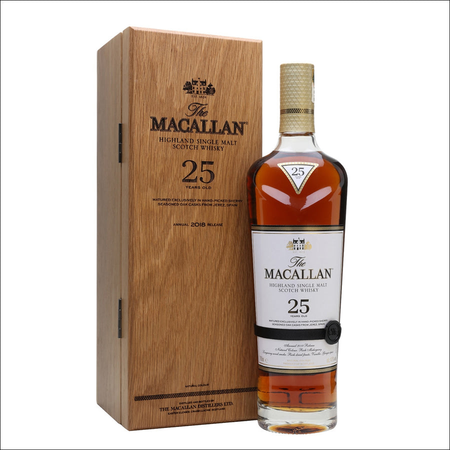 The Macallan Sherry Oak 25 Year Old - Whisky Drop