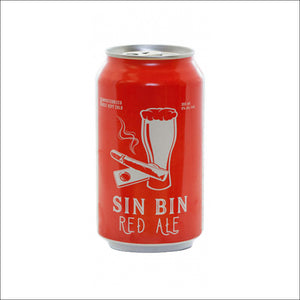 Medicine Hat Brewing Co. - Sin Bin Red Ale - Whisky Drop