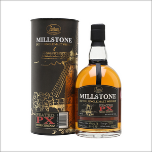Millstone Dutch Single Malt Peated PX Pedro Ximénez - Whisky Drop