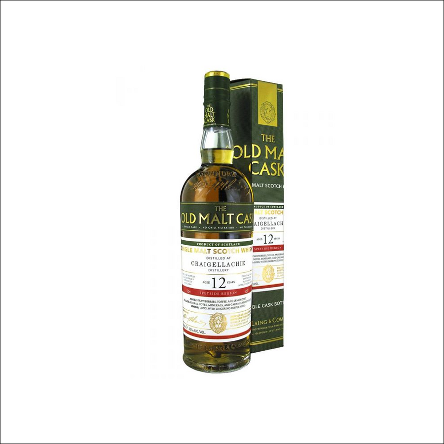 Old Malt Cask Craigellachie 12 Year Old - Whisky Drop