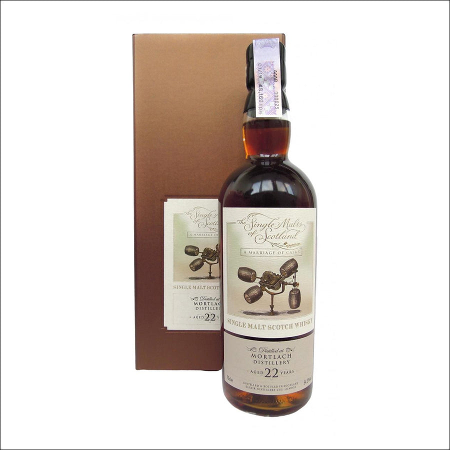 Single Malts of Scotland Mortlach 22 Year Old - Whisky Drop