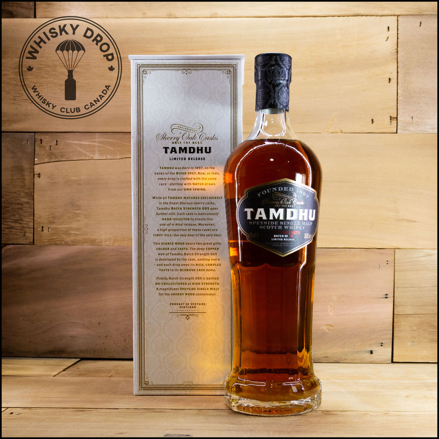 Tamdhu Batch Strength - Whisky Drop