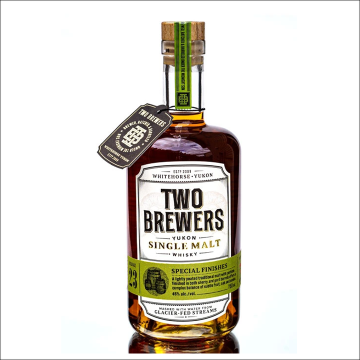Two Brewers Canadian Single Malt Release 23