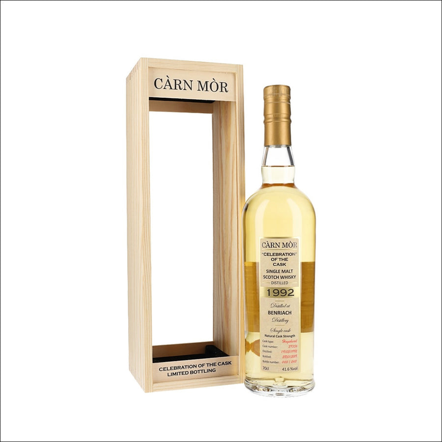 Carn Mor 'Celebration of the Cask' Benriach 1992