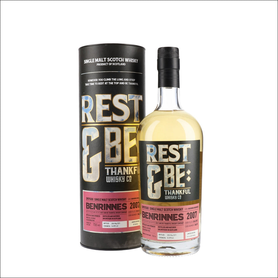 Rest & Be Thankful Benrinnes - Whisky Drop