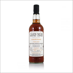 Carn Mor Teaninich 8 year old Bottle Whisky Drop