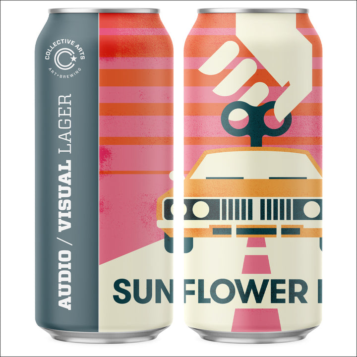 Collective Arts Brewing - Audio/Visual Lager - Whisky Drop