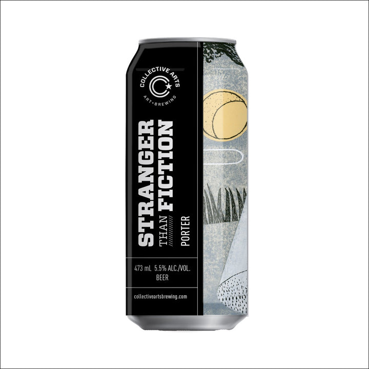 Collective Arts Brewing - Stranger Than Fiction Porter - Whisky Drop