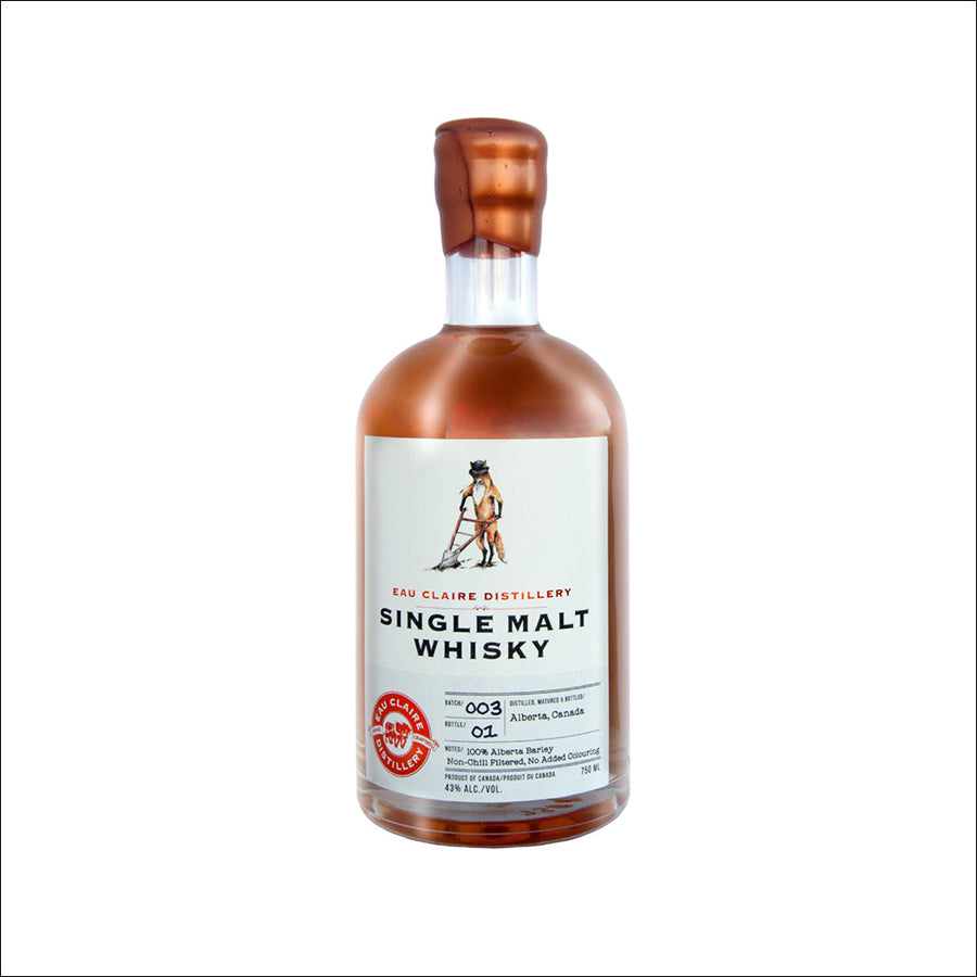 Eau Claire Single Malt Batch 3