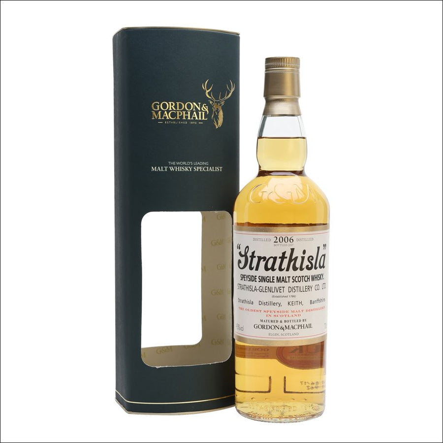 Gordon & MacPhail Strathisla - 2006 Bottle Whisky Drop
