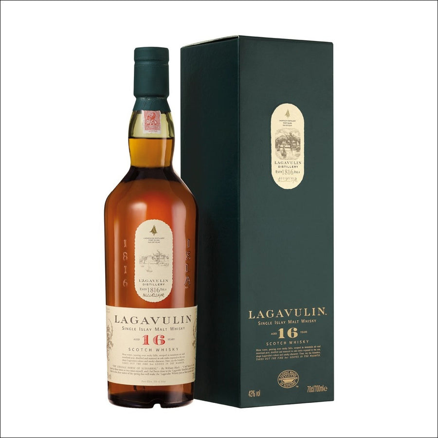 Lagavulin 16 year old - Whisky Drop
