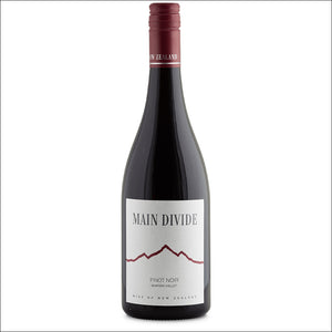 Main Divide Pinot Noir - Whisky Drop