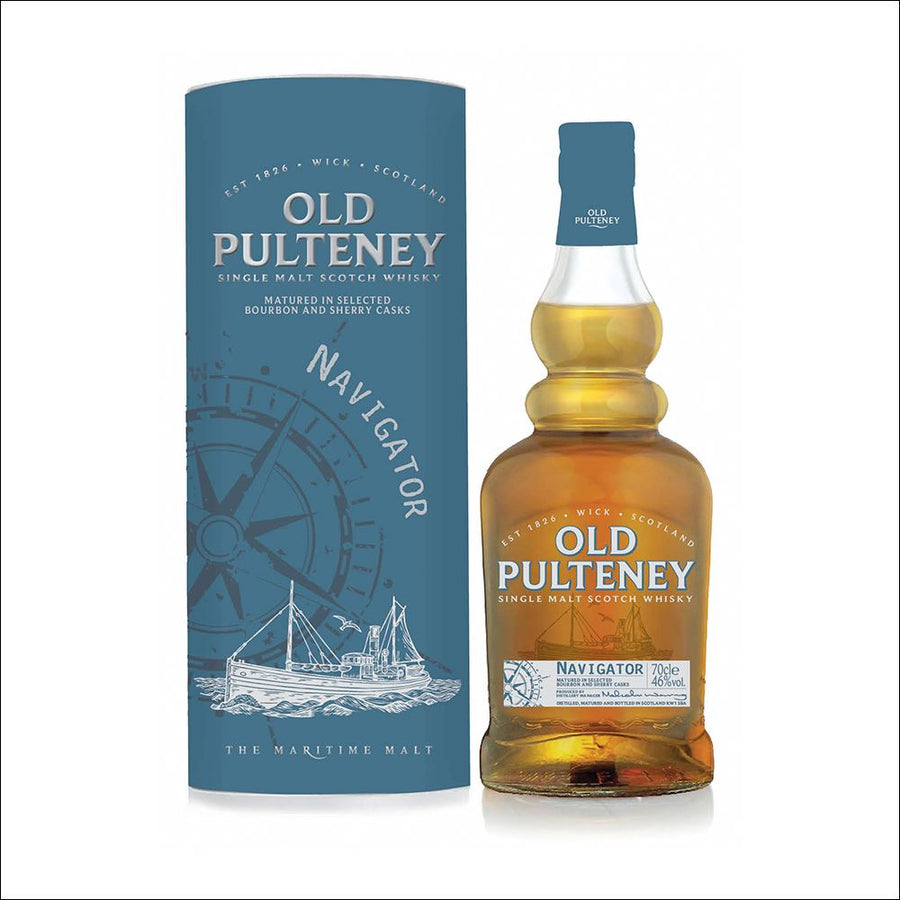 Old Pulteney Navigator Bottle Whisky Drop