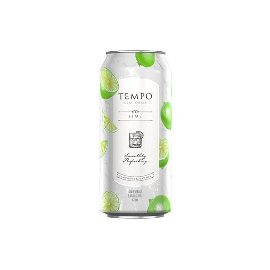 Tempo Gin Lime Soda 4 Pack - Whisky Drop