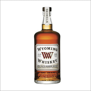 Wyoming Small Batch Bourbon Whiskey Bottle Whisky Drop