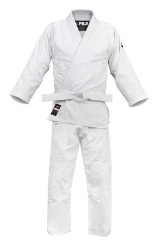Fuji Competition Double Weave Judo Gi White