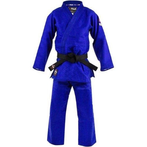 Fuji Competition Double Weave Judo Gi Blue