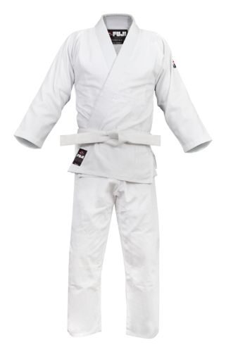 Fuji Single-Weave Judo Gi White