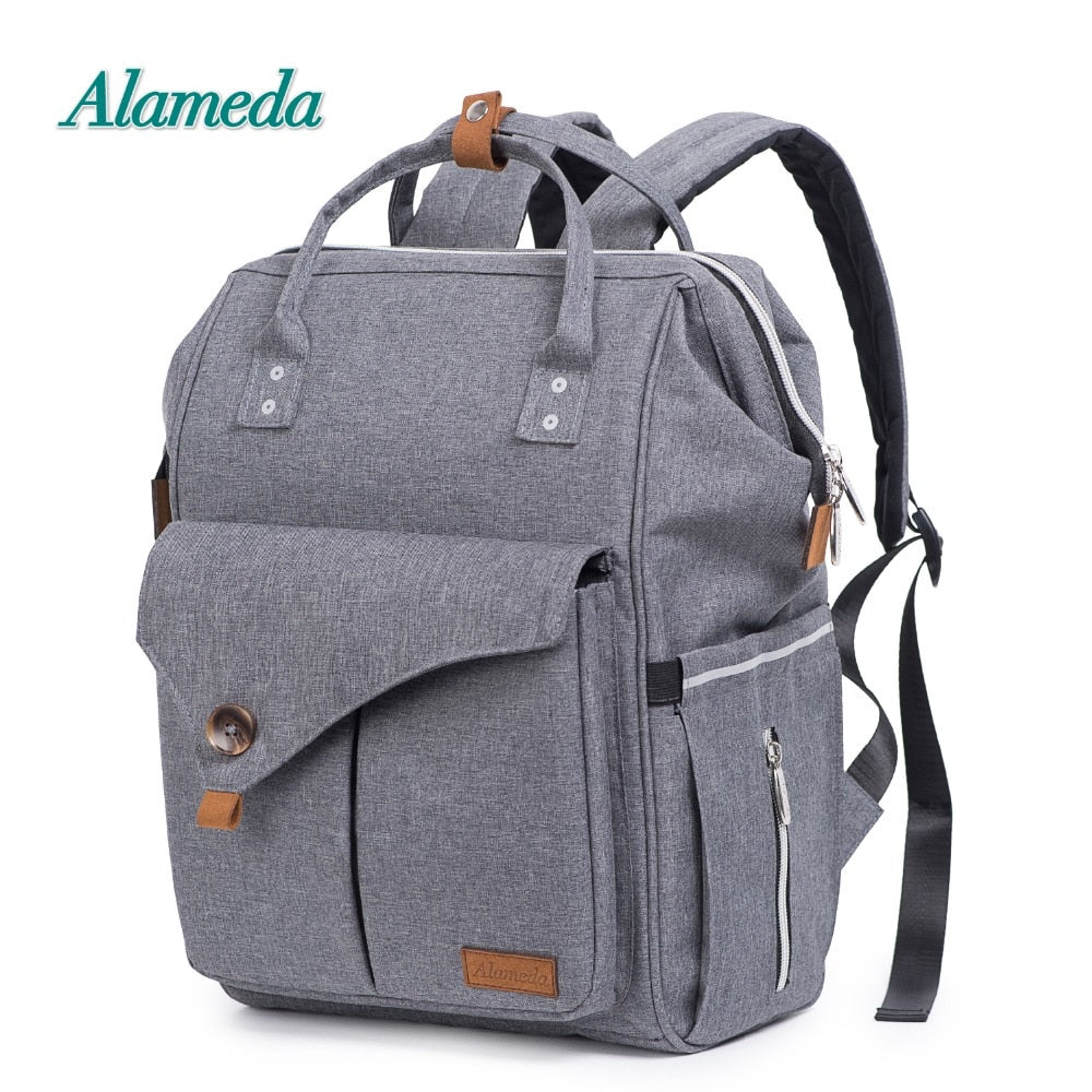 1c097db923 Multi-Functional Diaper Bag Backpack Baby Bag with Stroller Straps for Baby  Care. Hover to zoom