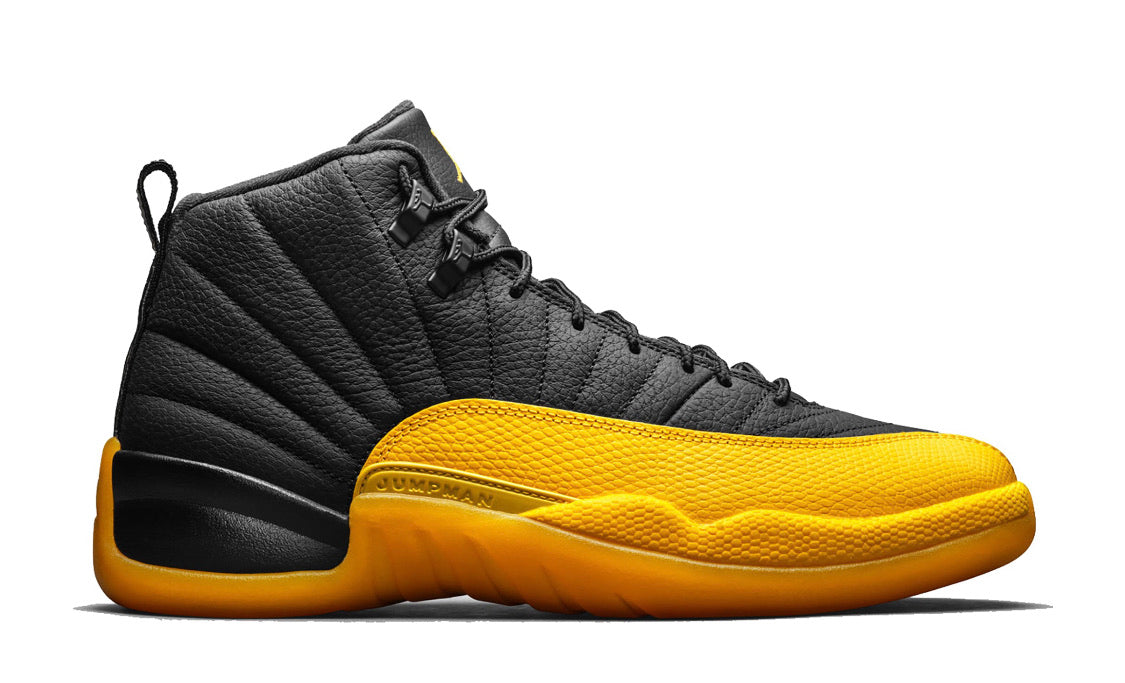 Jordan 12 Black University Gold (GS)