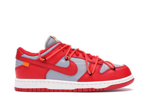 Nike Dunk Low x Off White University Red