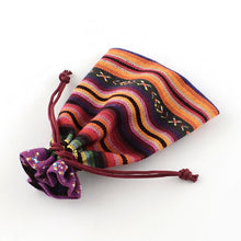 Load image into Gallery viewer, 5 pcs - Cloth Pouch, Jewelry Bag, Drawstring Bags