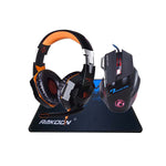 PAGUE 1 LEVE 3 | Mouse Gamer Pro + Headphone Gamer Pro + Mousepad GG | Gamer