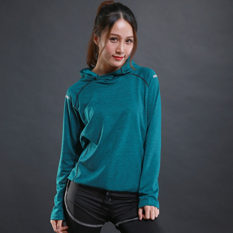 Autumn thin Women Running T Shirts - Better Business Plus