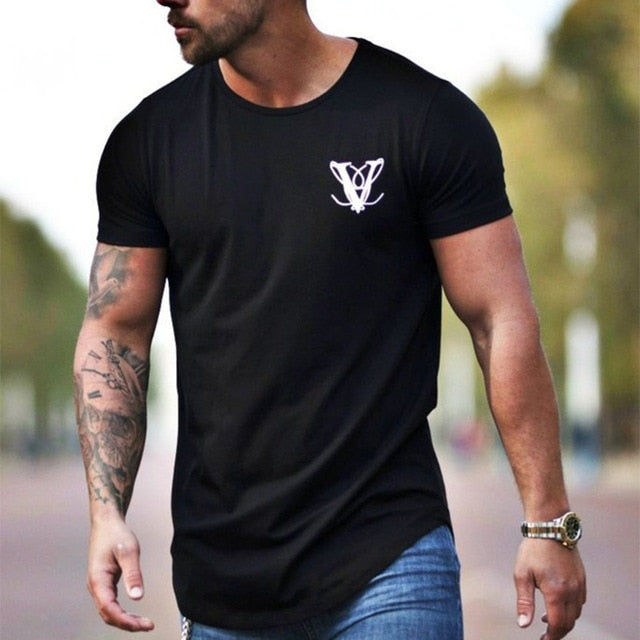 New Men Casual Fashion Printed Gyms T-shirt - Better Business Plus