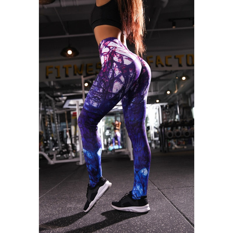Women Yoga Pants Sports Running Sportswear Stretchy Fitness Leggings - Better Business Plus