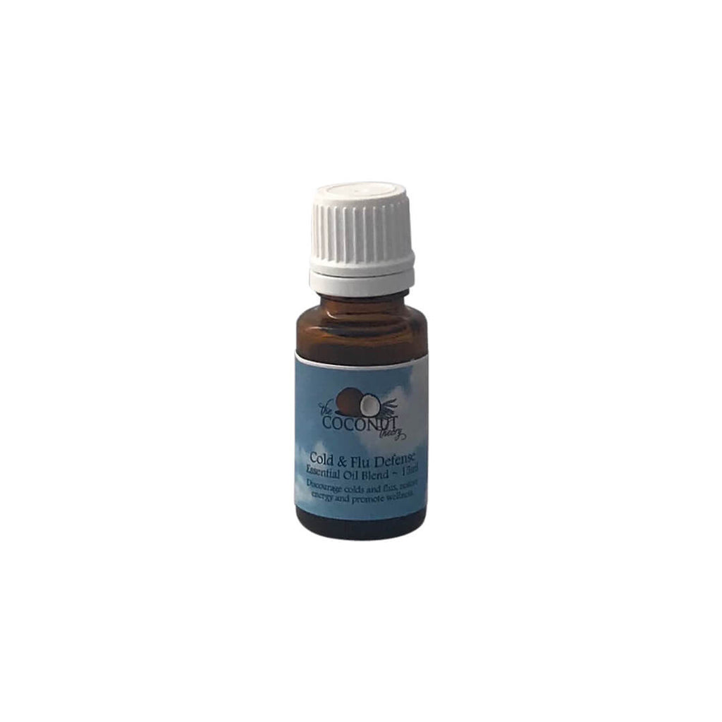 Aromatherapy Blend ~ Cold & Flu Defense 15ml