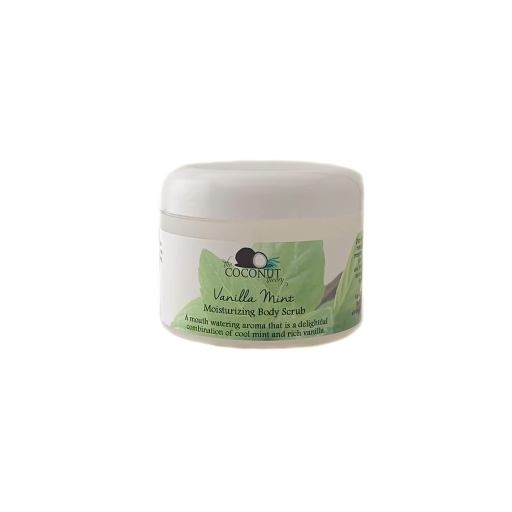 Vanilla Mint Moisturizing Body Scrub ~240ml