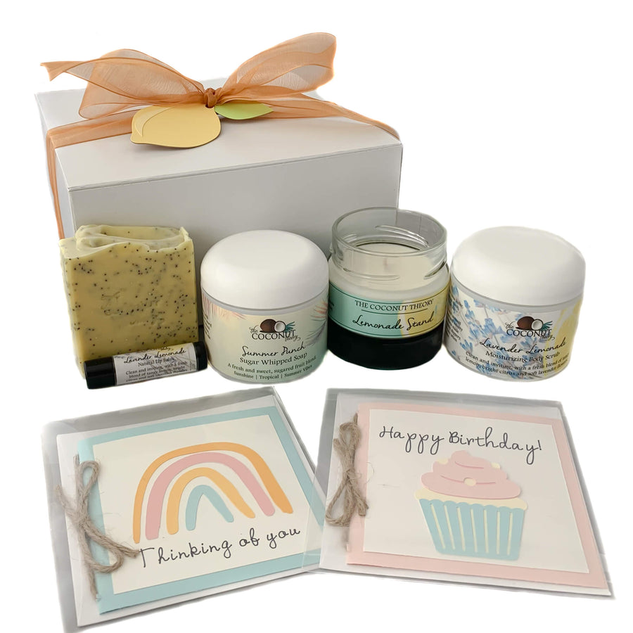 Thinking Of You Box ~ Citrus Bliss Collection