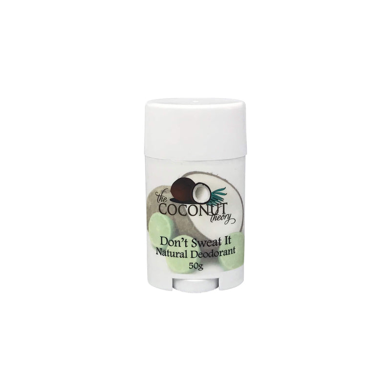 Don't Sweat It ~ Natural Deodorant 50g ~ Coconut Lime Breeze