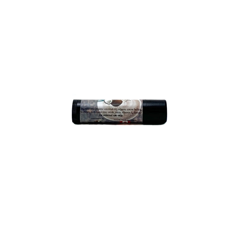 Peppermint Mocha Latte Natural Lip Balm ~ 4.5g