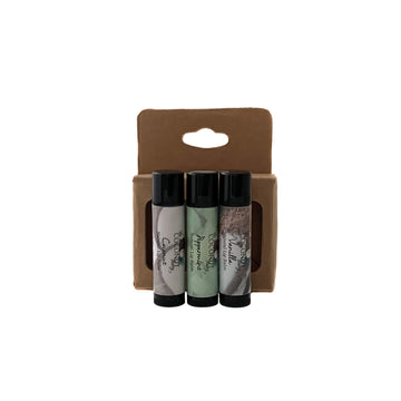 3-Pack Natural Lip Balm