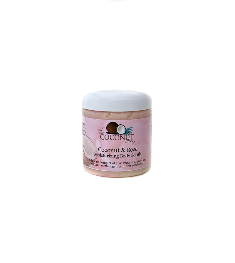 Coconut & Rose Moisturizing Body Scrub