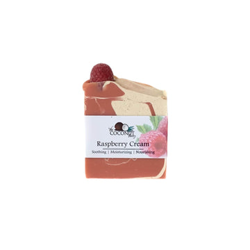 Raspberry Cream Bar Soap