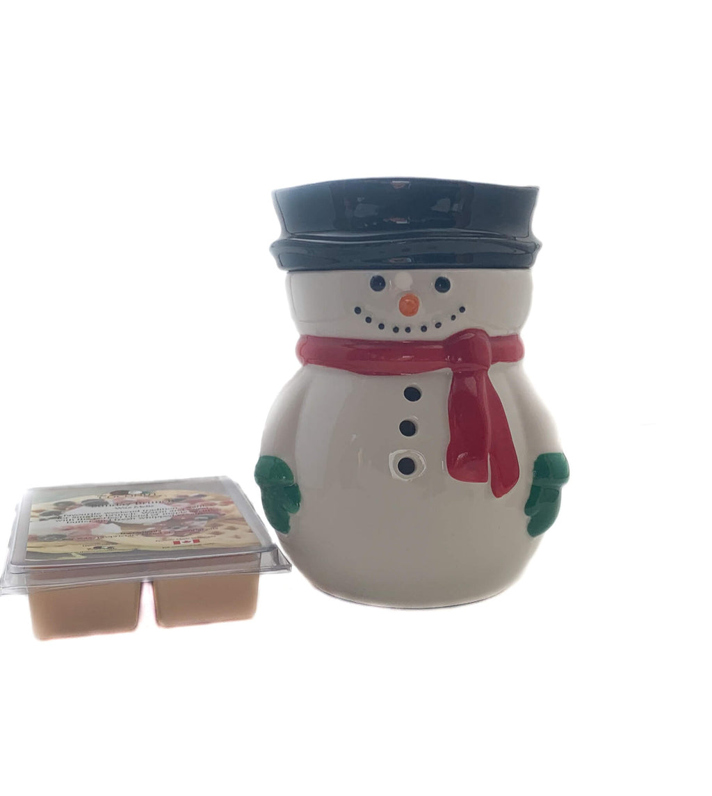 Fragrance Warmer ~ Frosty Warmer with FREE Wax Melt