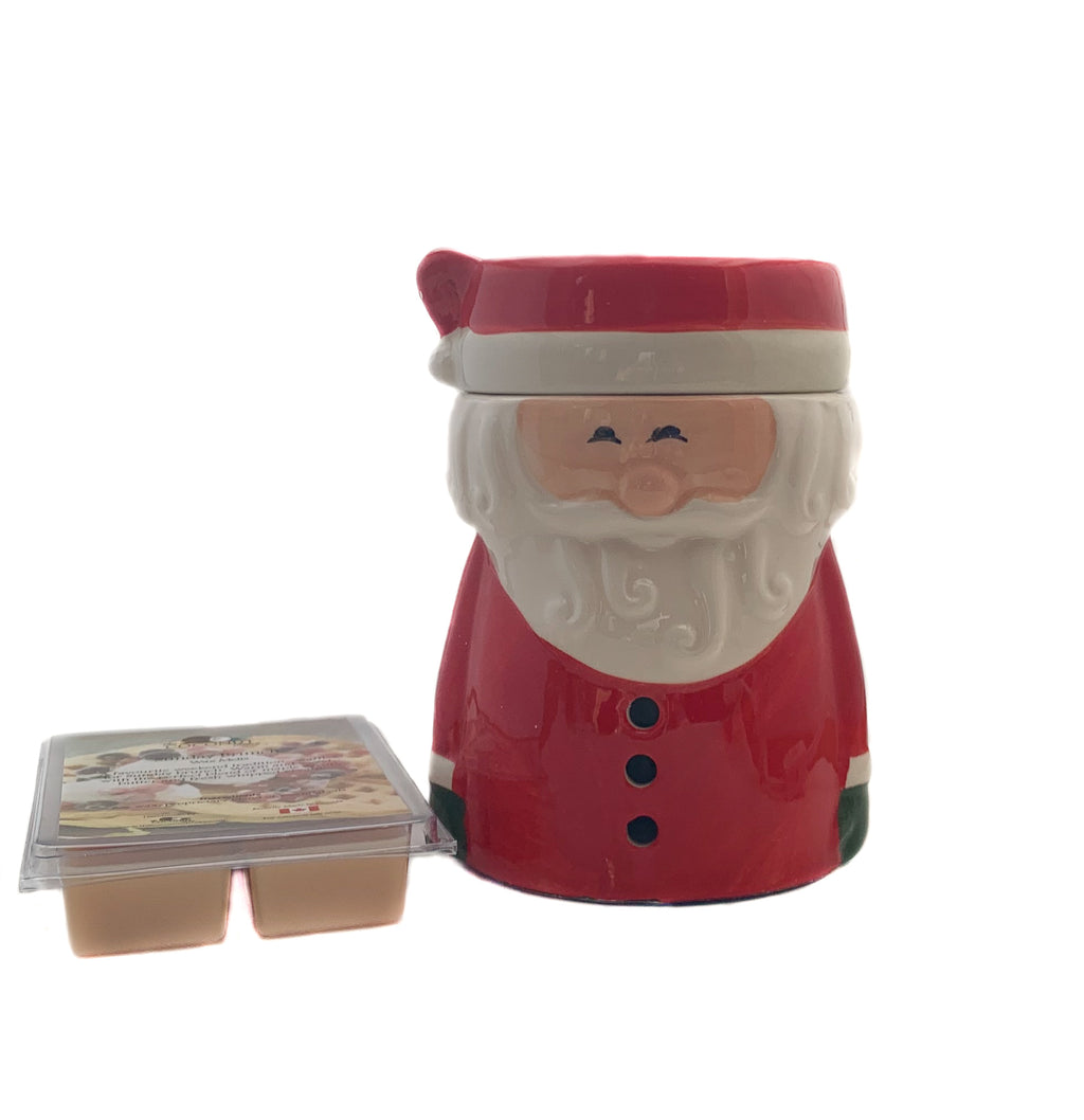 Fragrance Warmer ~ Santa Claus Warmer with FREE Wax Melt