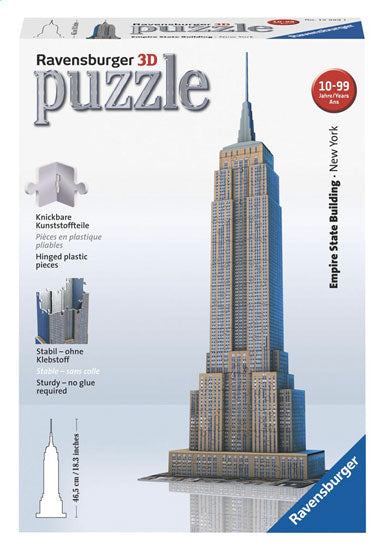 PUZZLE 3D 216PZ - EMPIRE STATE BUILDING