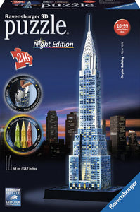 PUZZLE 3D 216PZ NIGHT EDITION - CHRYSLER BUILDING