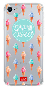 CLEAR COVER IPHONE 7 - ICE CREAM