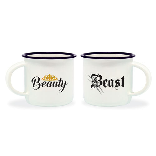 ESPRESSO FOR TWO - COFFEE MUG - BEAUTY & BEAST TAZZINE DA CAFFÉ