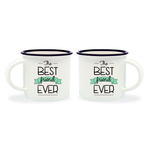 ESPRESSO FOR TWO - COFFEE MUG - THE BEST FRIEND EVER TAZZINE DA CAFFÉ