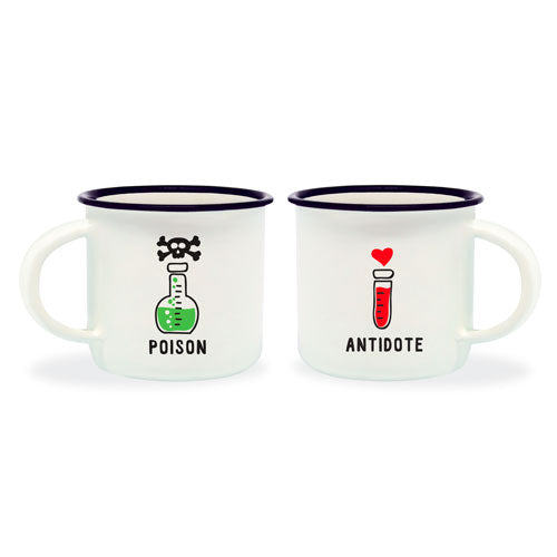 ESPRESSO FOR TWO - COFFEE MUG - POISON & ANTIDOTE TAZZINE DA CAFFÉ