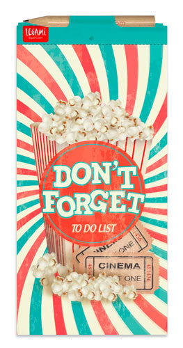 DON'T FORGET - BLOCCO NOTE MAGNETICO - POP CORN