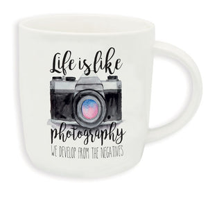 BUONGIORNO MUG – LIFE IS LIKE PHOTOGRAPHY