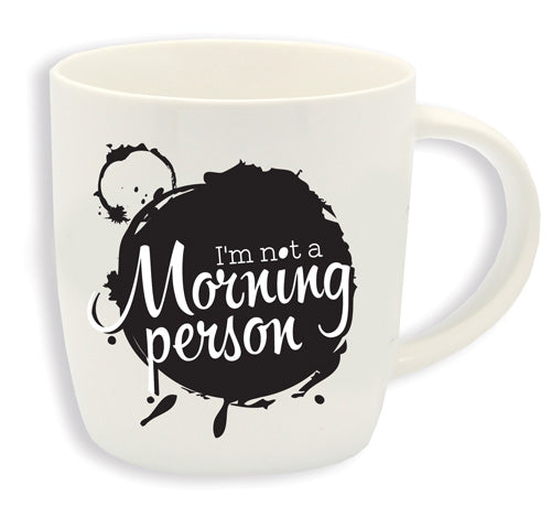 BUONGIORNO MUG – I'M NOT A MORNING PERSON