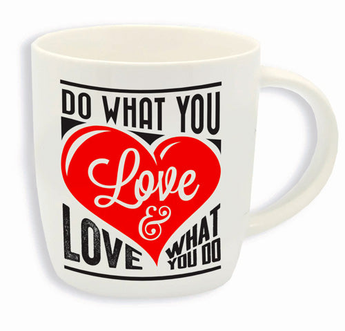BUONGIORNO MUG – DO WHAT YOU LOVE LOVE WHAT YOU DO